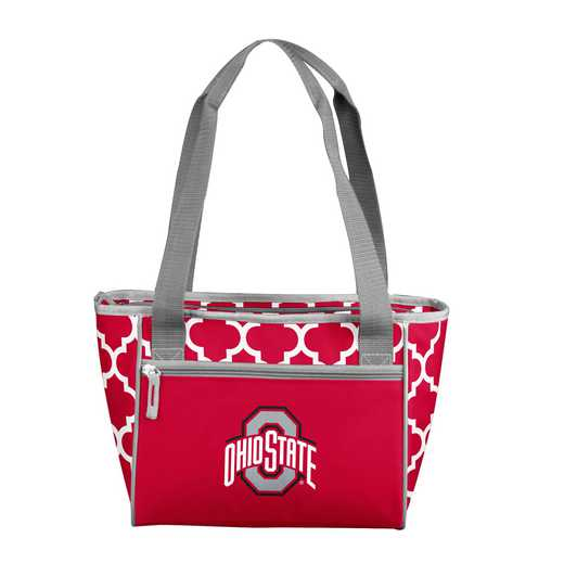191-83-CR1: NCAA Ohio State Qrtrfl 16Can Cooler Tote