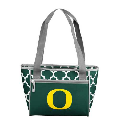 194-83QF: NCAA Oregon Qrtrfl 16Can Cooler Tote