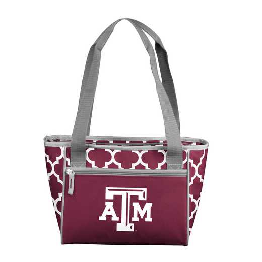 219-83-CR1: NCAA TX A&M Qrtrfl 16Can Cooler Tote