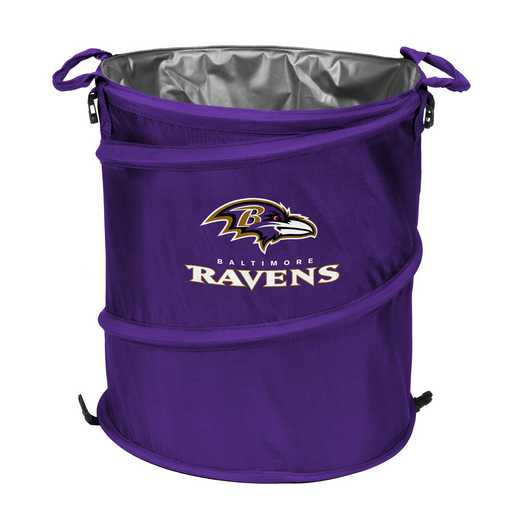 603-35: Baltimore Ravens Collapsible 3-in-1