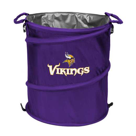 618-35: Minnesota Vikings Collapsible 3-in-1