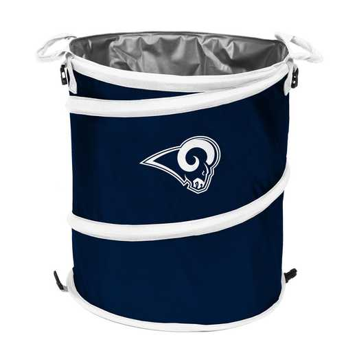 629-35-1: LA Rams Navy/White Collapsible 3-in-1