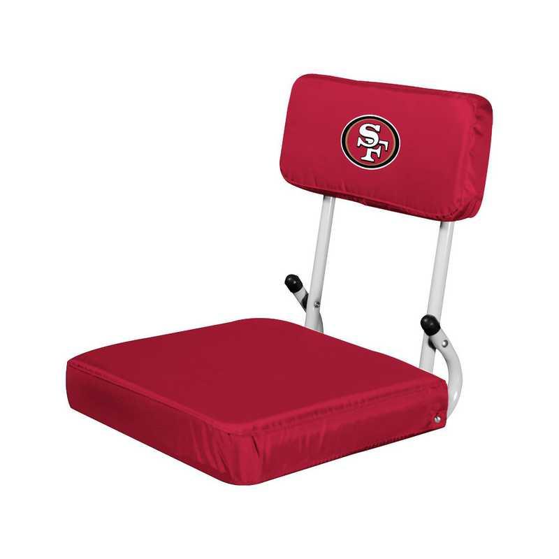 627-94: San Francisco 49ers Hardback Seat