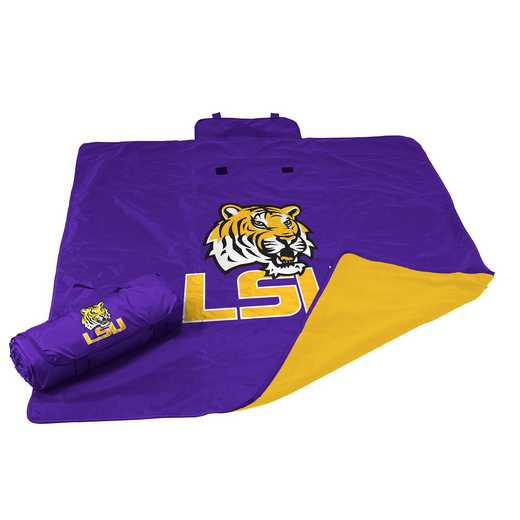 162-73: LSU All Weather Blanket
