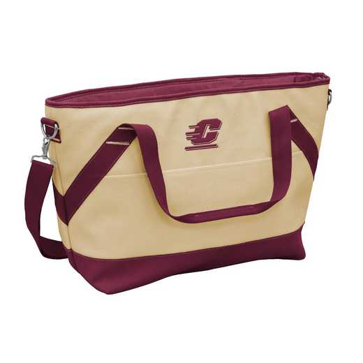 119-81B: Central Michigan Brentwood Cooler Tote