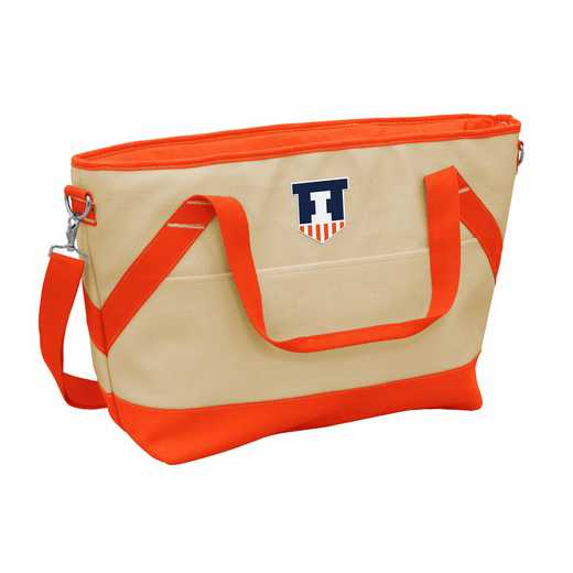 151-81B: Illinois Brentwood Cooler Tote