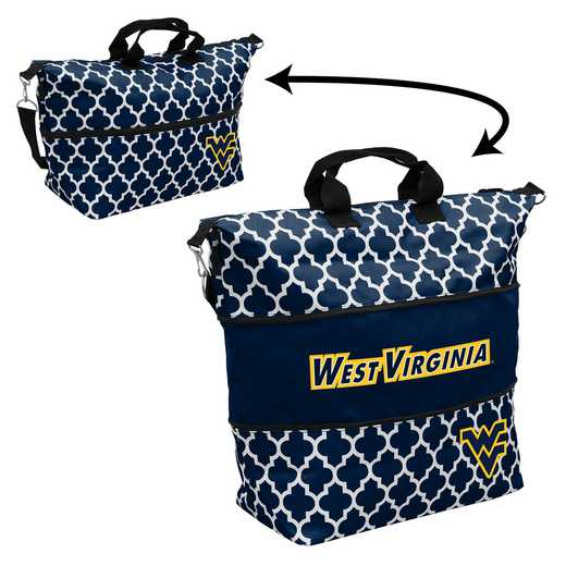 239-665-CR1: LB West Virginia Quatrefoil Expandable Tote
