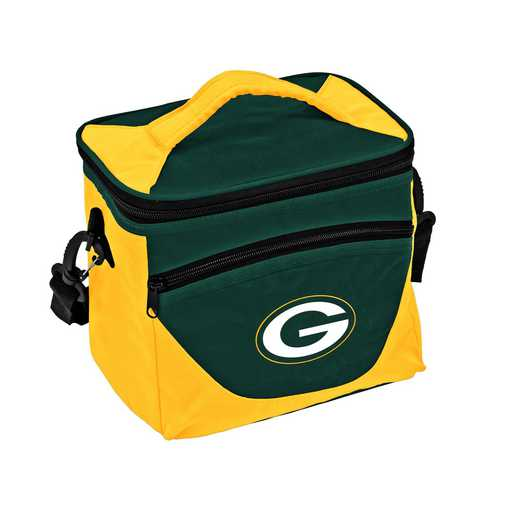 612-55H: Green Bay Packers Halftime Lunch Cooler