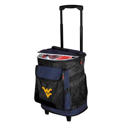 239-57: NCAA West Virginia Rolling Cooler