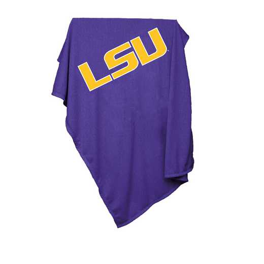 162-74: LSU Sweatshirt Blanket