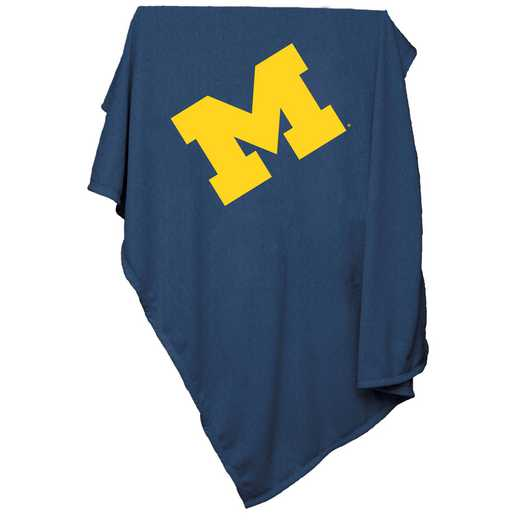 171-74: Michigan Sweatshirt Blanket