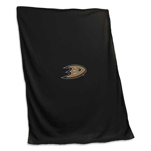 801-74: Anaheim Ducks Sweatshirt Blanket