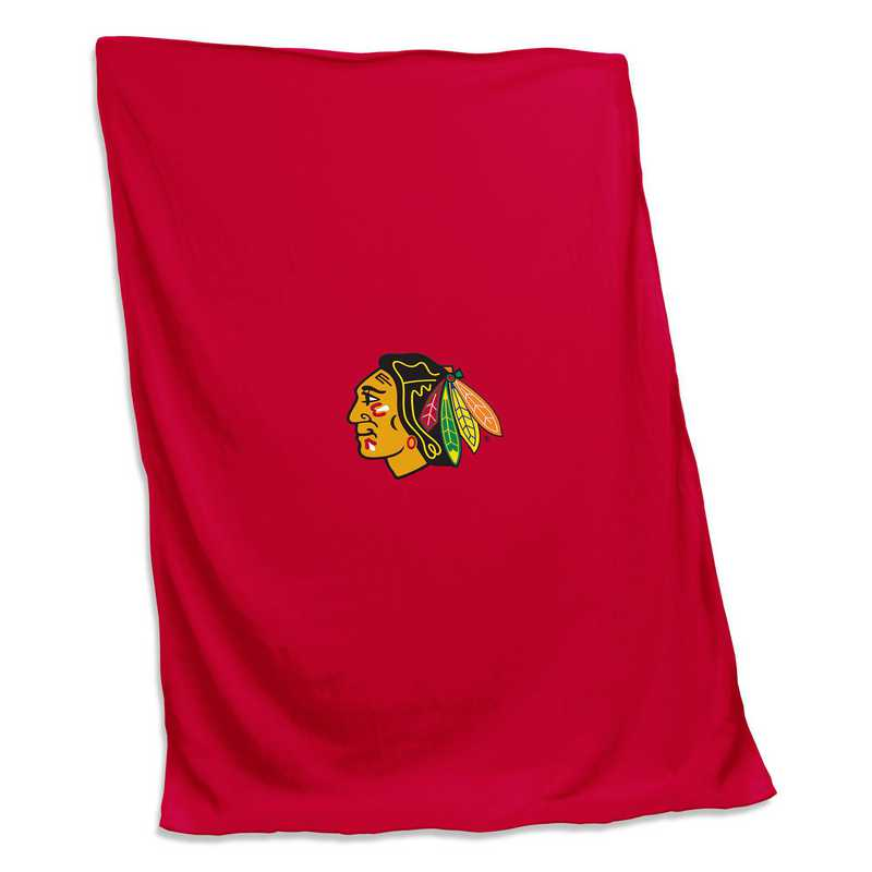 807-74: Chicago Blackhawks Sweatshirt Blanket