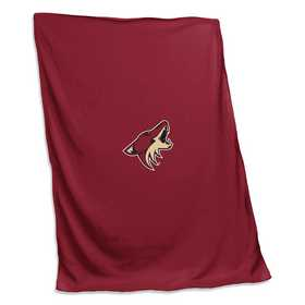823-74: Arizona Coyotes Sweatshirt Blanket