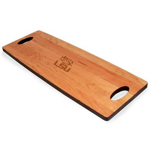 615789056874: LSU Cherry Entertaining Board by M.LaHart & Co.