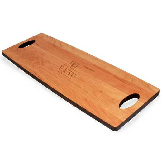 615789688419: East Tennessee ST UNIV Cherry Entertaining Board
