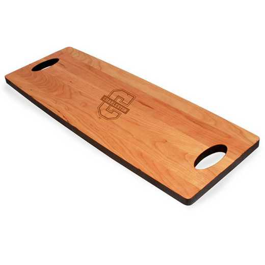 615789942627: College of Charleston Cherry Entertaining Board