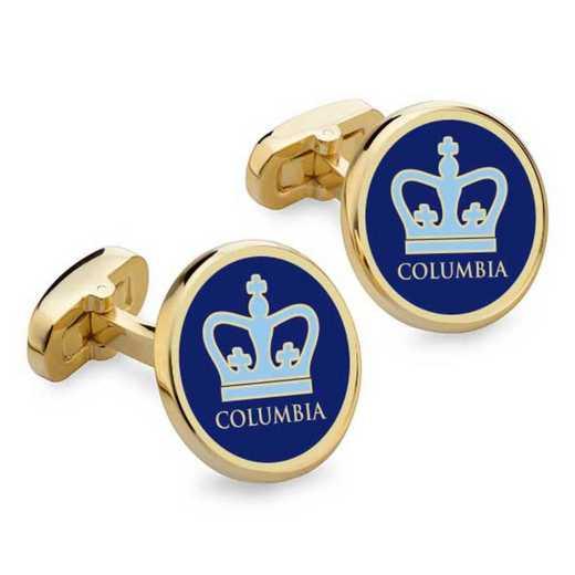 615789192497: Columbia Enamel Cufflinks by M.LaHart & Co.