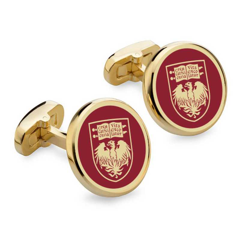 615789556473: Chicago Enamel Cufflinks by M.LaHart & Co.