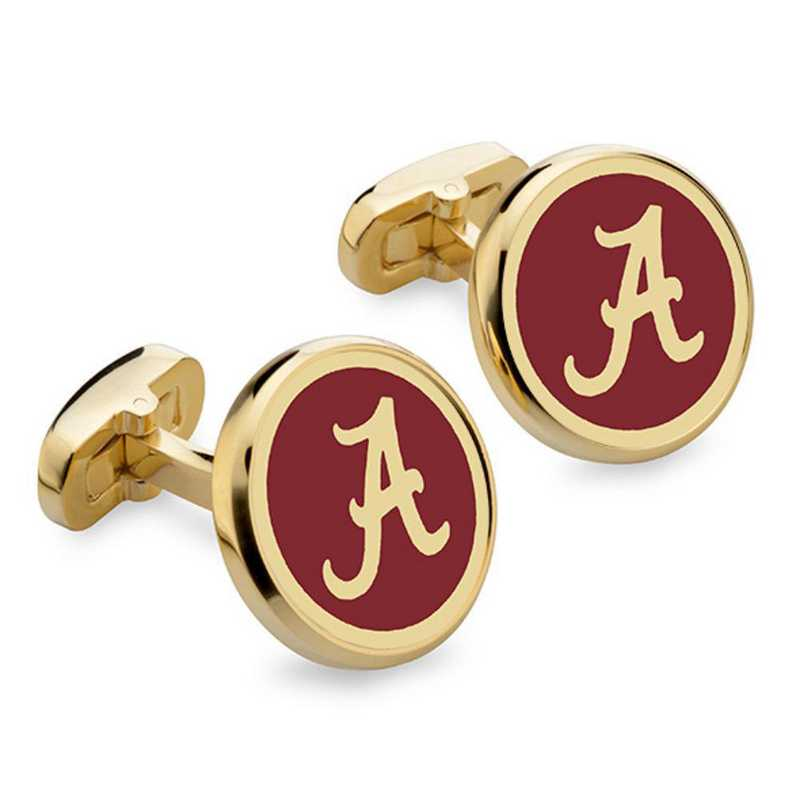 615789771579: Alabama Enamel Cufflinks by M.LaHart & Co.