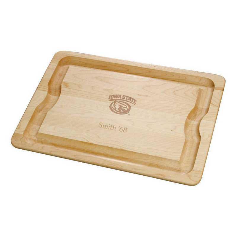 615789374312: Iowa ST UNIV Maple Cutting Board by M.LaHart & Co.
