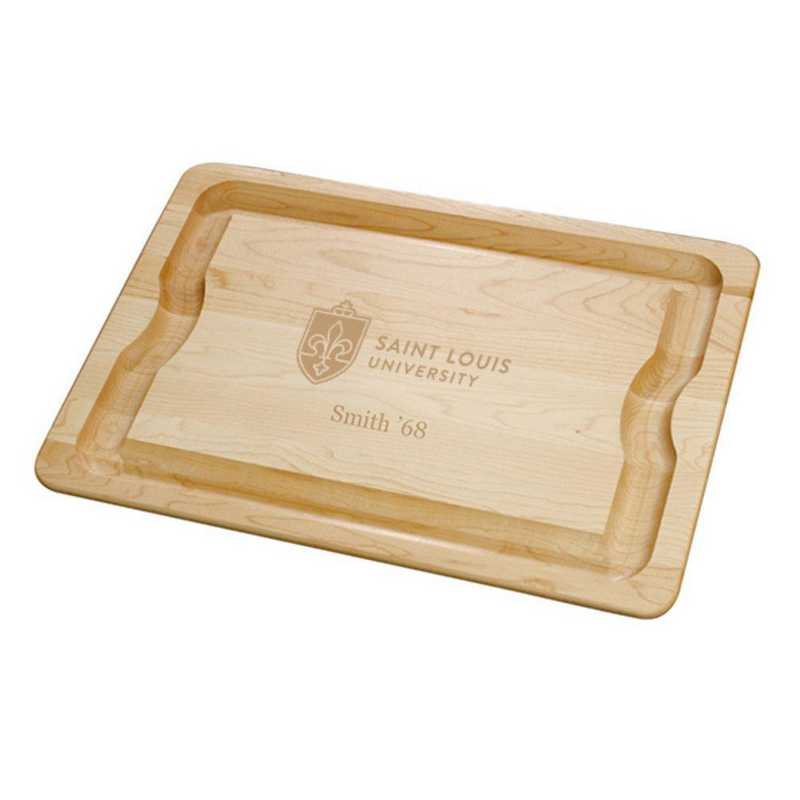 615789425069: Saint Louis UNIV Maple Cutting Board by M.LaHart & Co.