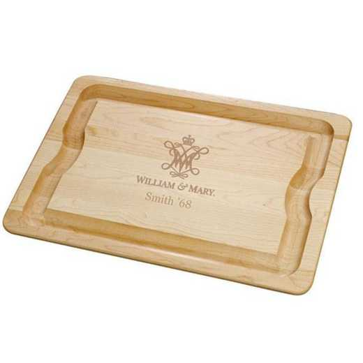 615789610663: William & Mary Maple Cutting Board by M.LaHart & Co.