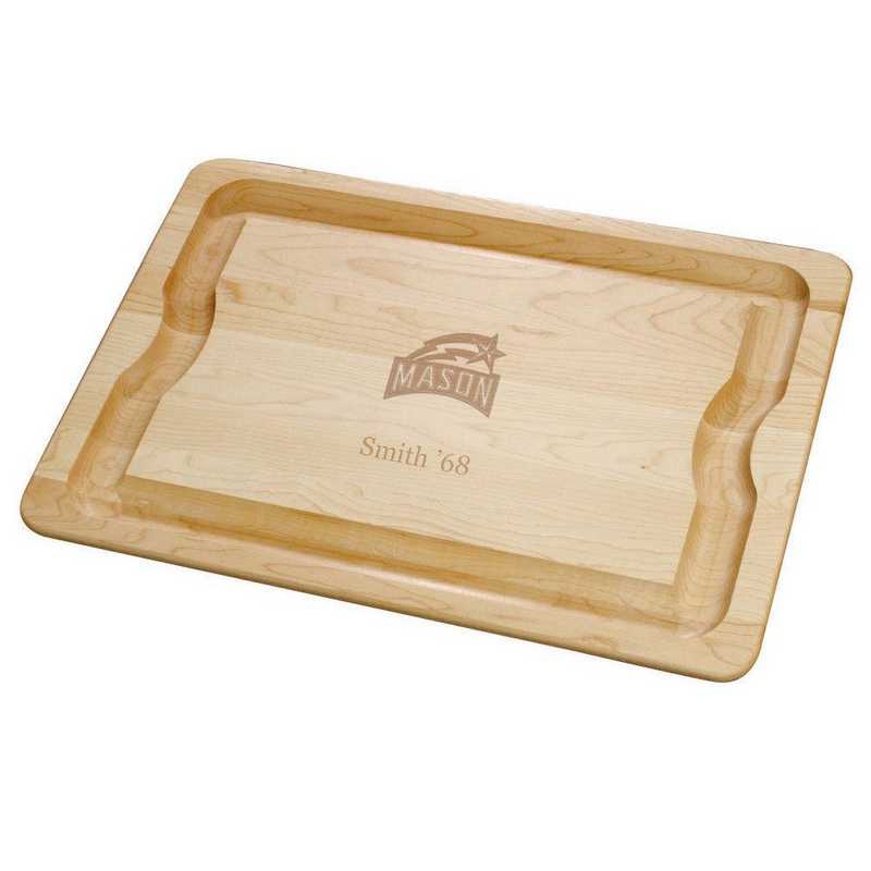 615789779650: George Mason UNIV Maple Cutting Board by M.LaHart & Co.