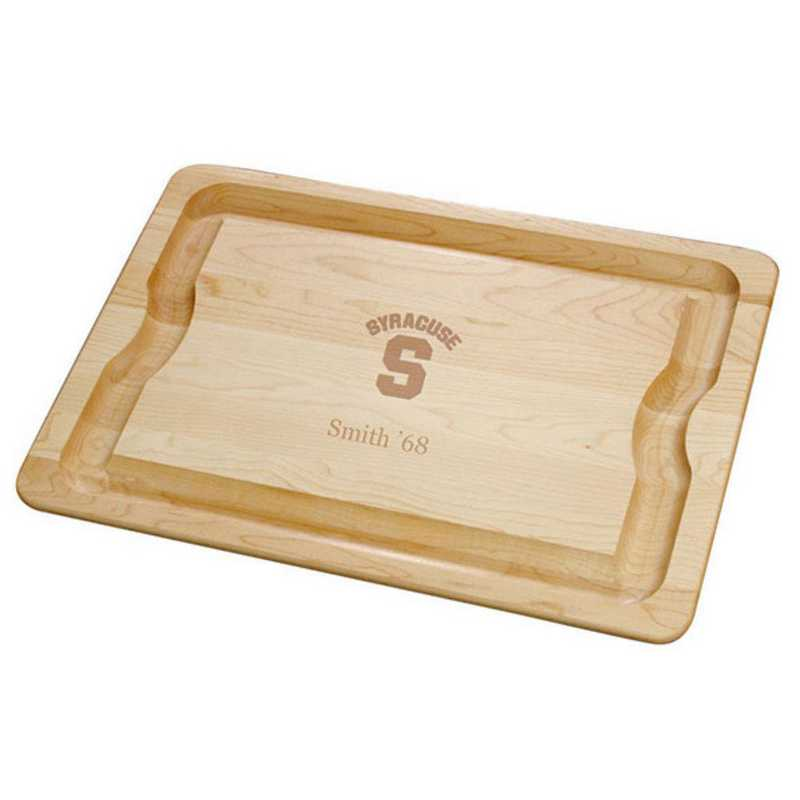 615789796053: Syracuse UNIV Maple Cutting Board by M.LaHart & Co.