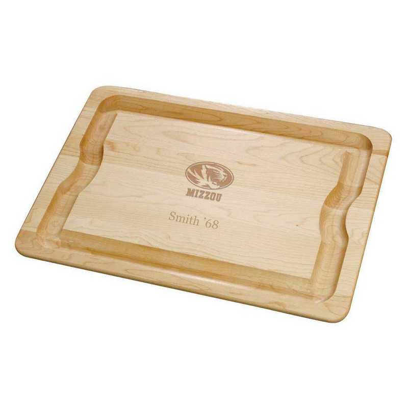 615789811251: UNIV of Missouri Maple Cutting Board by M.LaHart & Co.