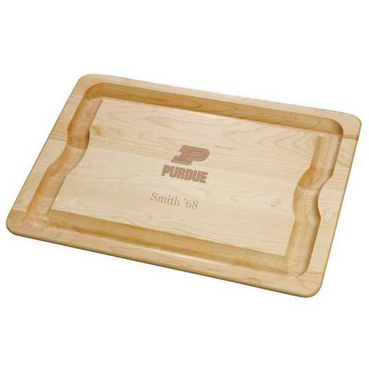 615789844617: Purdue UNIV Maple Cutting Board by M.LaHart & Co.