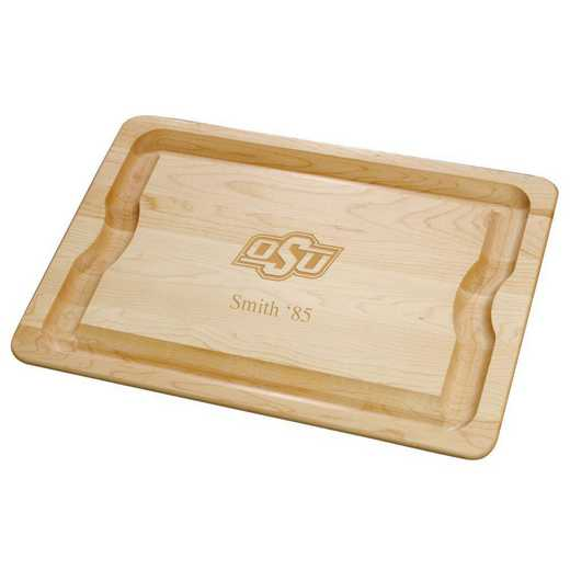 615789847670: Oklahoma ST UNIV Maple Cutting Board by M.LaHart & Co.