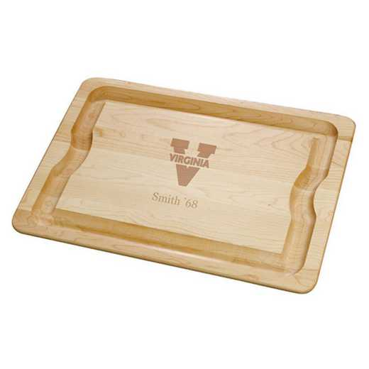 615789959403: UNIV of Virginia Maple Cutting Board by M.LaHart & Co.