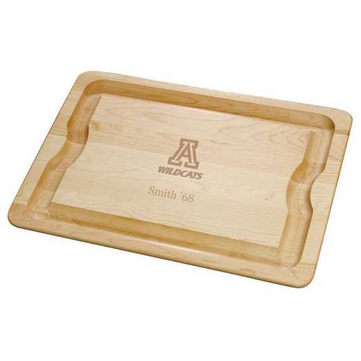 615789983521: UNIV of Arizona Maple Cutting Board by M.LaHart & Co.