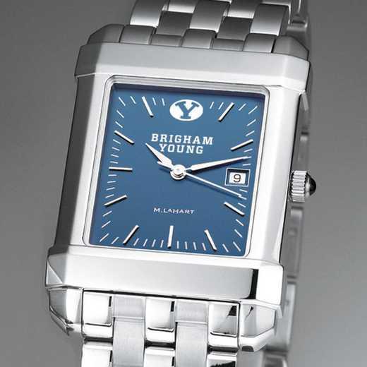 615789304500: Men's Steel Quad Blue Dial with Bracelet