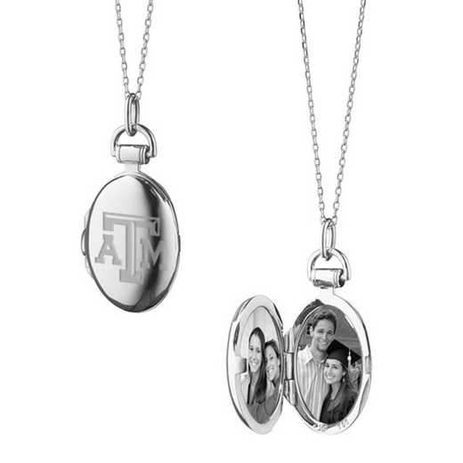 615789959779: Texas A&M University Monica Rich Kosann Petite Locket