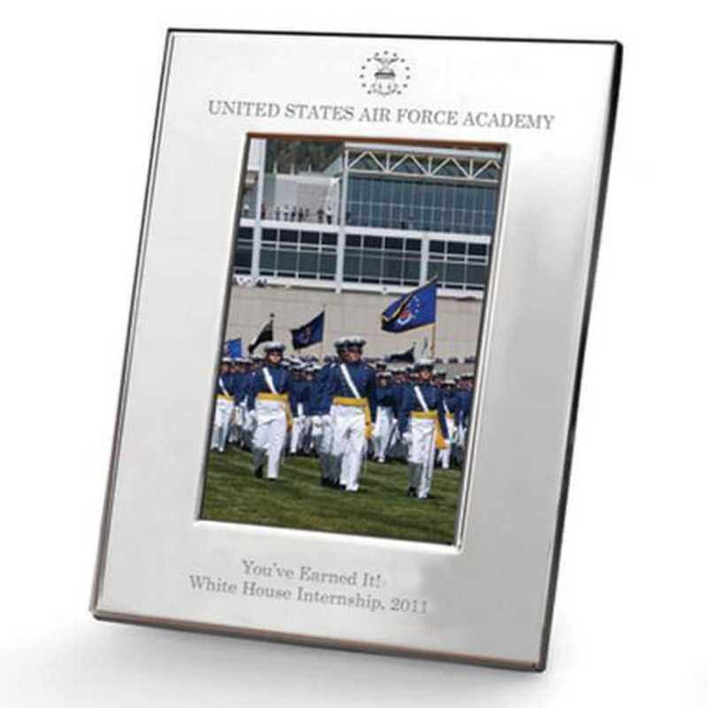 615789496151: Air Force Academy Pewter Frame (5x7) by M.LaHart & Co.