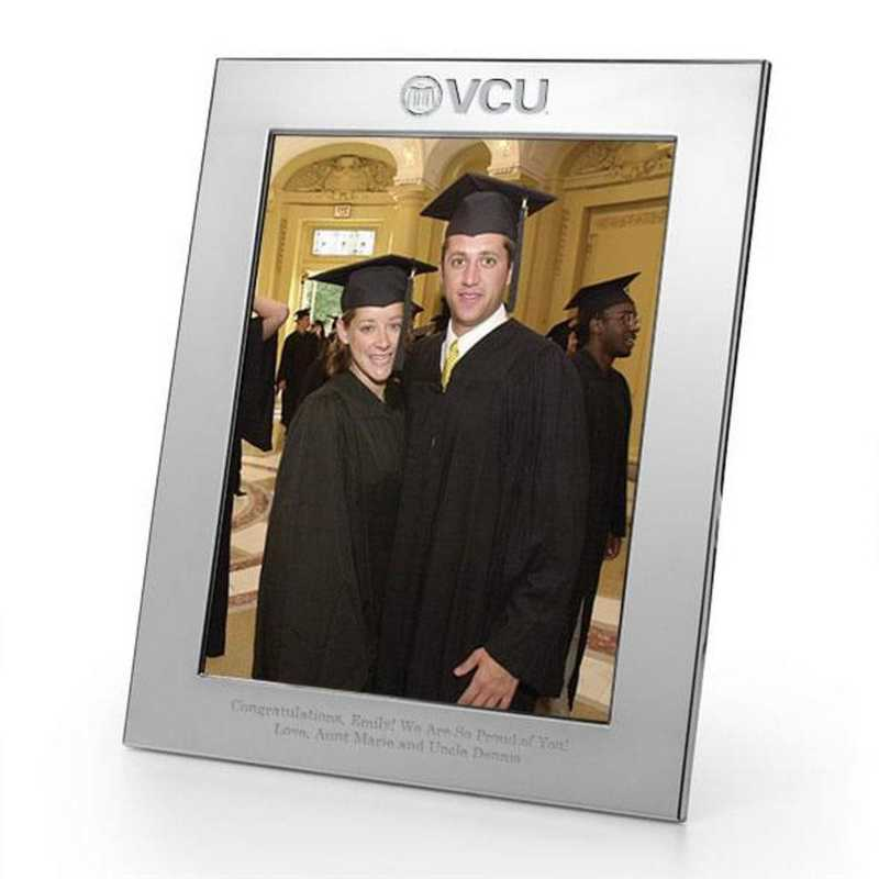 615789658191: VCU plshed Pewter 8x10  Frame by M.LaHart & Co.