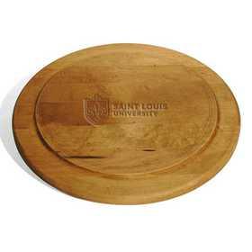 615789114055: Saint Louis University Round Bread Server by M.LaHart & Co.