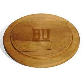 615789169062: Boston University Round Bread Server by M.LaHart & Co.