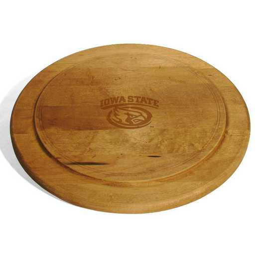 615789197522: Iowa State University Round Bread Server by M.LaHart & Co.
