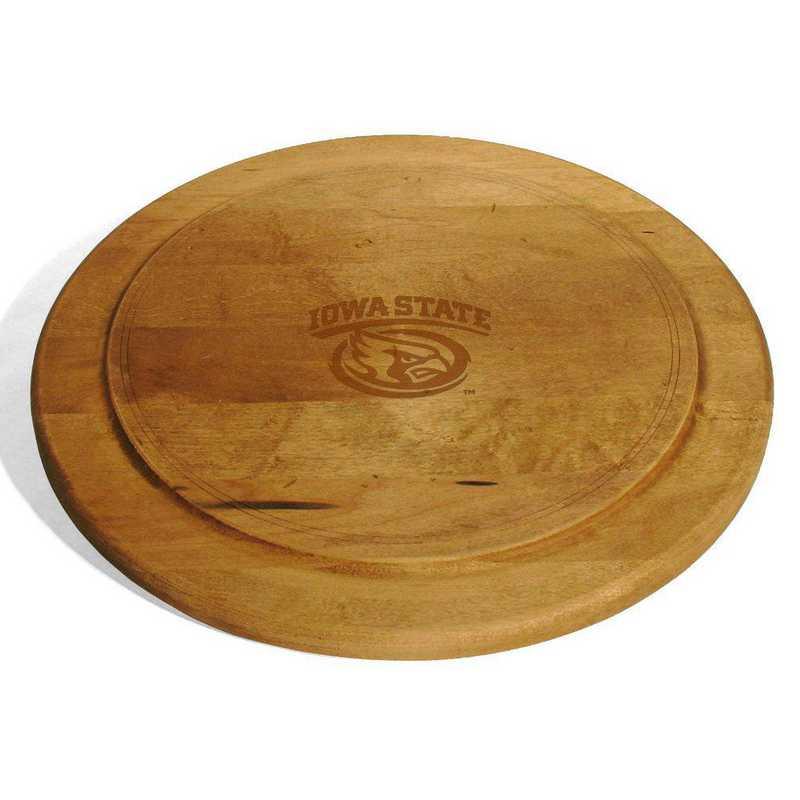 615789197522: Iowa State University Round Bread Server by M.LaHart & Co.