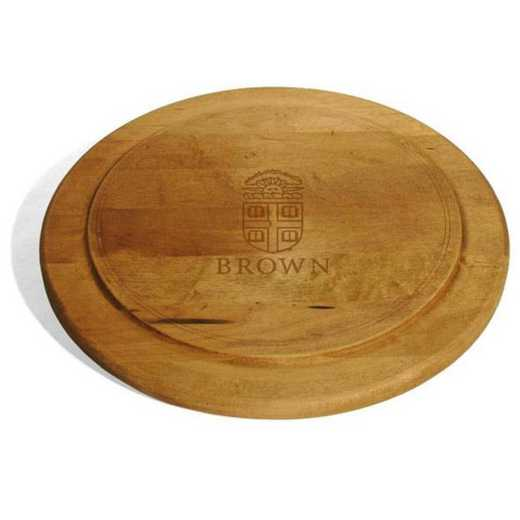615789207238: Brown Round Bread Server by M.LaHart & Co.