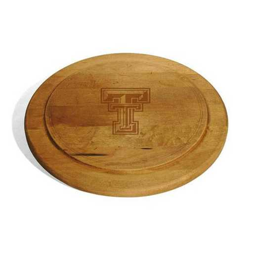 615789283911: Texas Tech Round Bread Server by M.LaHart & Co.