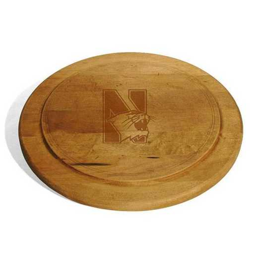 615789585794: Northwestern Round Bread Server by M.LaHart & Co.