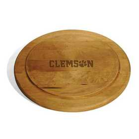 615789820901: Clemson Round Bread Server by M.LaHart & Co.