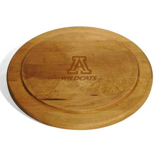 615789874720: University of Arizona Round Bread Server by M.LaHart & Co.