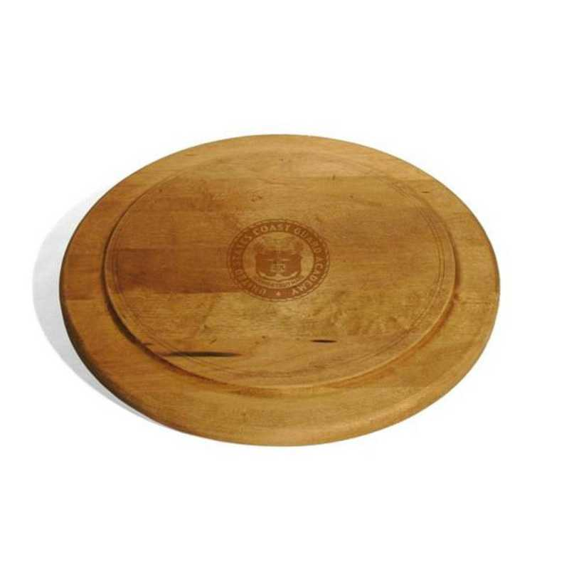 615789925828: USCGA Round Bread Server by M.LaHart & Co.