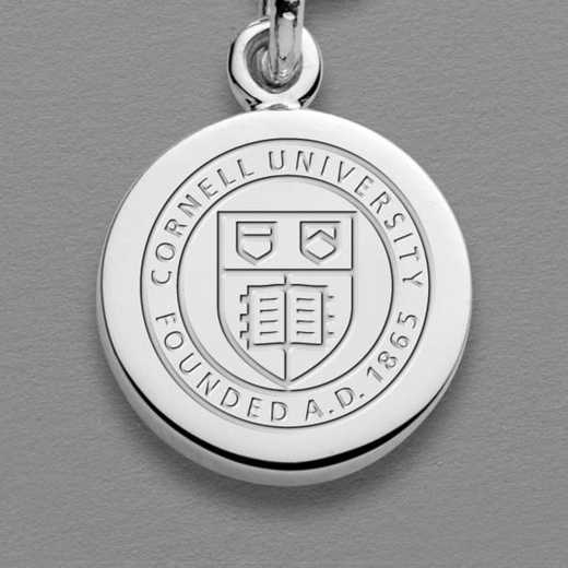 615789039228: Cornell Sterling Silver Individual Charm