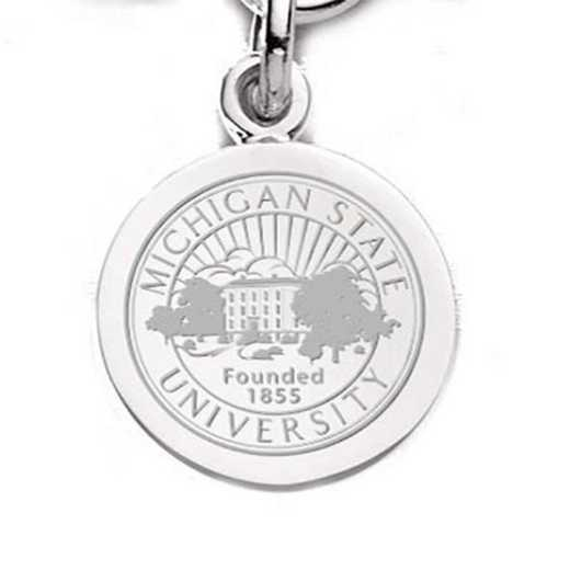 615789202554: Michigan State SS Charm by M.LaHart & Co.